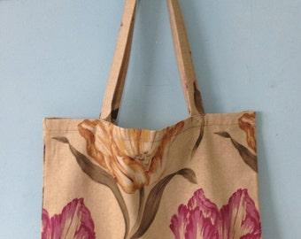 Large Cotton Tote Bag Shopping Bag Market Bag Eco Bag