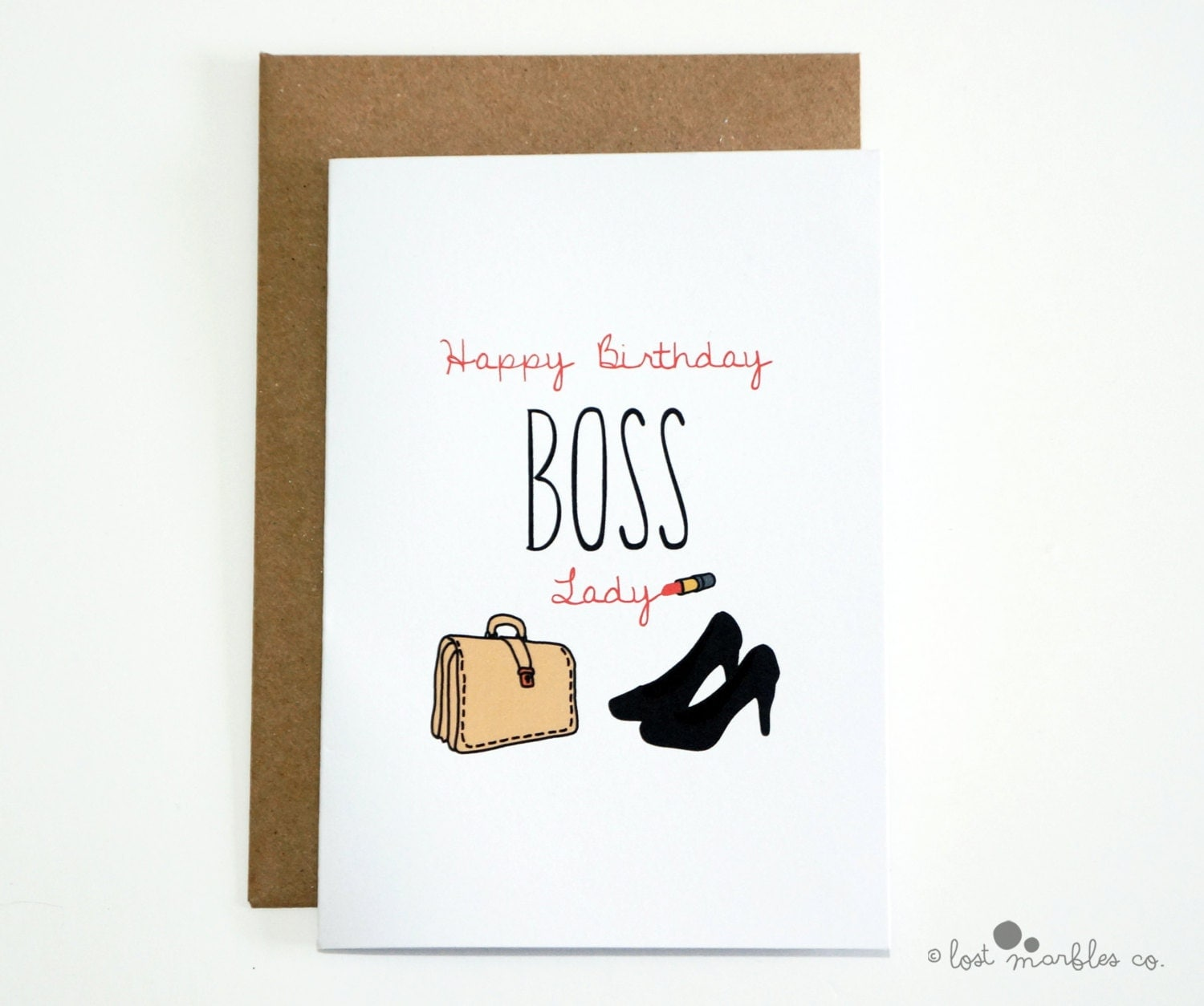 Boss Birthday Card Her Birthday Boss Birthday She Boss