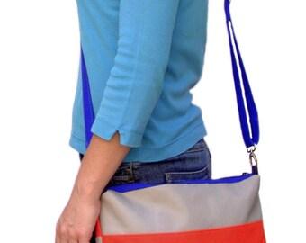 "Everyday messenger bag ""Megi"" - simple but delightful crossbody purse"