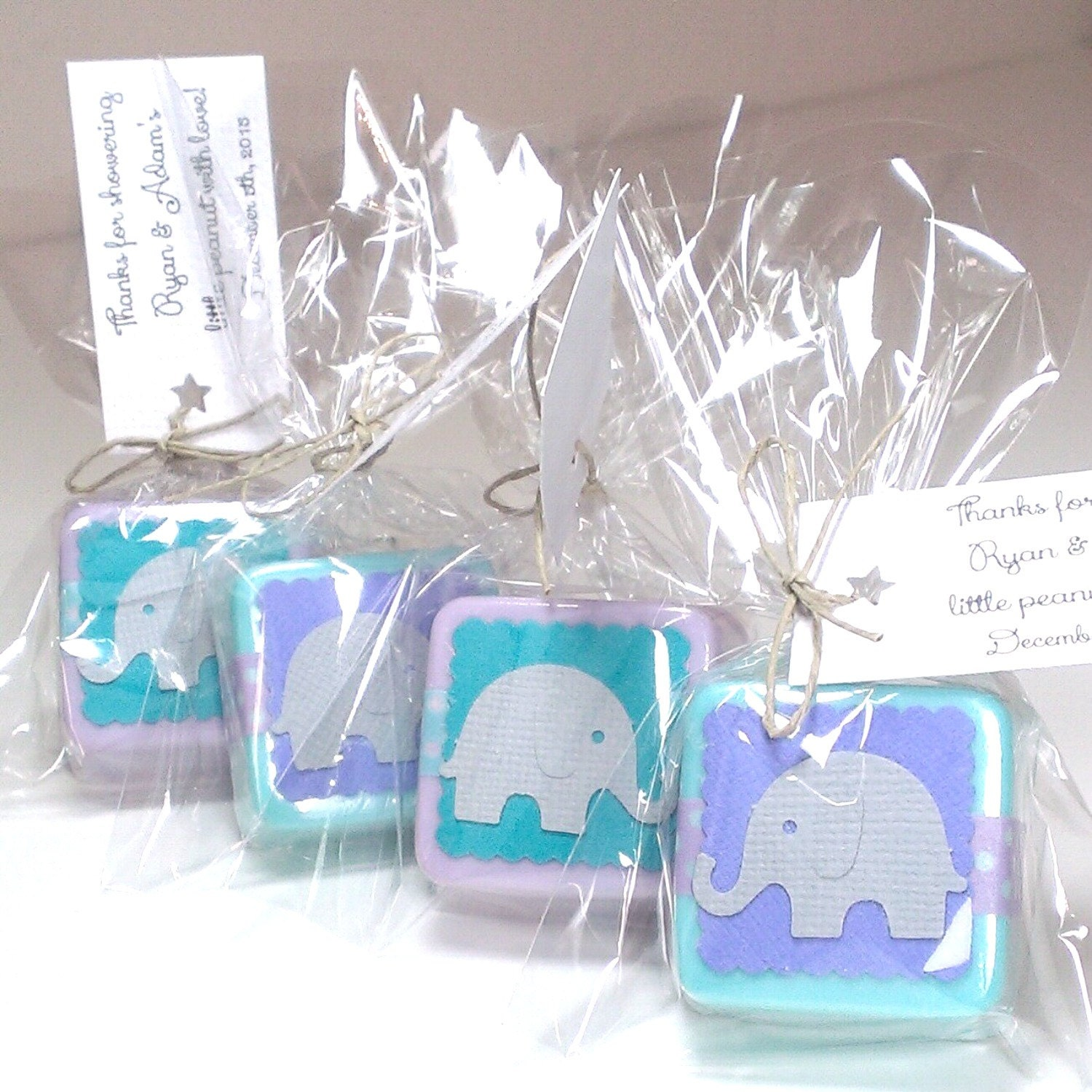 36 elephant baby shower favors soap shower favors for boy or