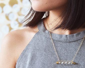 CARRIE - Little glass bubbles necklace