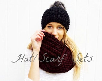 Hat + Scarf Sets | Mix and Match