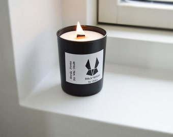 Nordic Forest, Soy Wax Scented Candle, Alpine Forest, 100 % Soy Wax, 200g/7oz Glass Candle, Woodwick, Handmade/Hand Poured, Made In Denmark