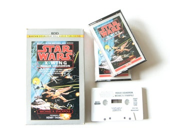 Star Wars X-Wing Rogue Squadron by Michael A Stackpole audio book on tape / Science Fiction Book 1 by Lucasfilm
