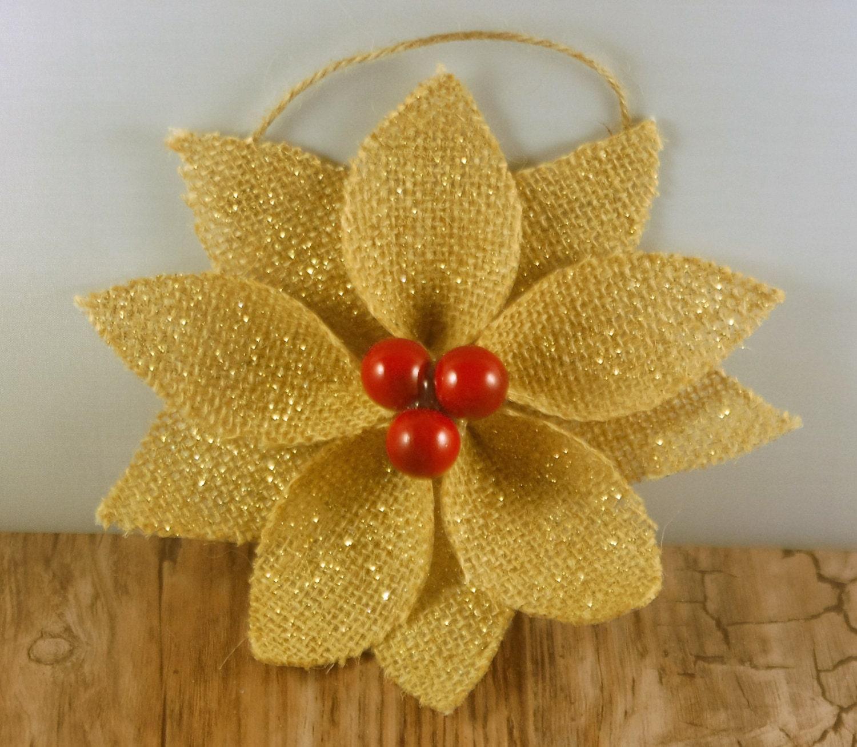 Burlap Christmas Ornaments Burlap by adorableaDOORnments ...