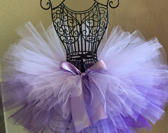 Purple Ombre Tutu, Purple Baby Tutu, Purple Tutu, Light Purple Tutu, Infant Tutu, Newborn Tutu, Baby Tutu, Toddler Tutu, Birthday Tutu