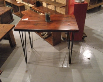 Reclaimed Barn Wood Entry or Foyer Table