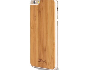 Shell wood - Bamboo iPhone back