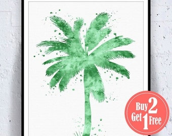 Unique Palm Tree Painting Related Items Etsy