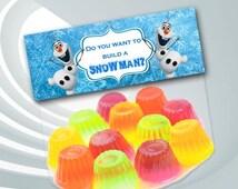 ON SALE 25% Disney Frozen Favor Bag Toppers - Disney Frozen Birthday Party - Frozen Printable - Frozen Thank You