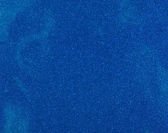 "Sparkle Glitter Vinyl Upholstery Fabric - Sold By The Yard - 54""- Dark Blue"