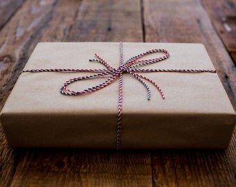 Gift Wrap -- Add-On for Gift Wrapping for Personalized Custom Leather Goods -- With Hand Written Card! only 5 dollars