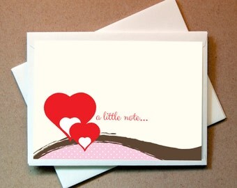 Valentines Card - Hearts (24 cards and envelopes)