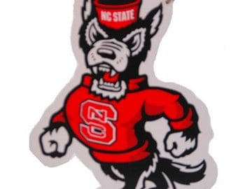 North Carolina State Wolfpack Mascot/Wreath Supplies/College Football/Sports Decor/ MWO020700