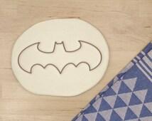 Bat Cookie Cutter - Geek Cookie Cutter Halloween Cookie Cutter Nerd Animal Cookie Cutter Birthday Cookie Cutter Gift - 3D Printed