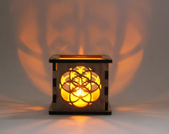 Seed of Life - Tea Light Holder