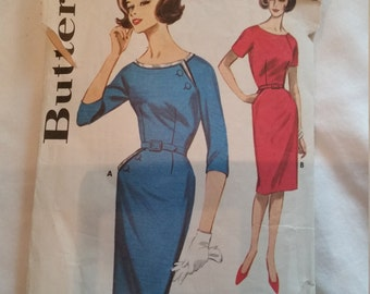 Butterick Pattern 2174 Slim Skirted Dress
