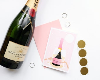 Bridal Party Scratch Card