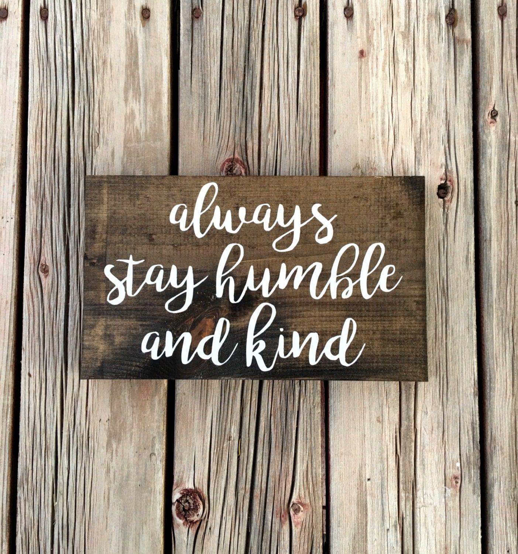 Humble Signs