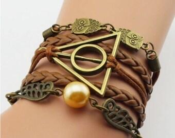Owl Bracelet - Vintage