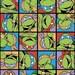 ninja turtles infinity scarf, retro cartoon ninja turtles infinity scarf, nickelodeon TMNT scarf
