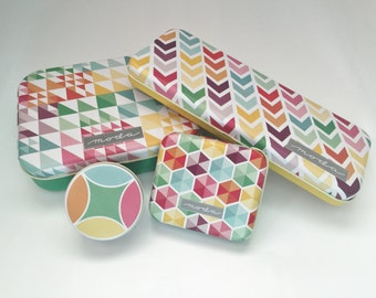 Moda Patchwork Tin Set