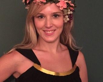 Dionysus Flower Crown