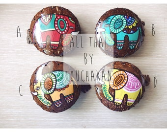 Handmade Coin purses made of coconut shell (Code: CP3)
