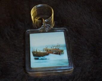 R.N.L.I Vintage Keyring Royal National Lifeboat Institution