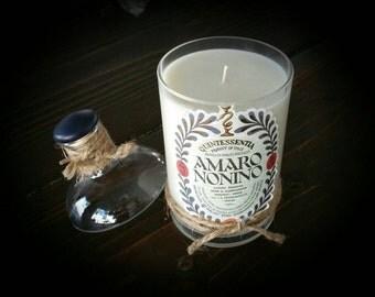 Amaro Nonino candle
