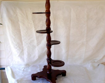 Vintage 4 Tier Plant Stand