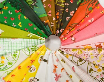 Tiger Lily Fat Quarter Bundle by Heather Ross for Windham Fabrics - 22 FQs