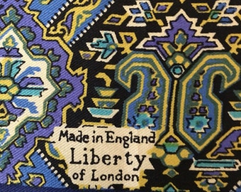 Vintage Liberty of London Silk Scarf / Paisliey / 1960
