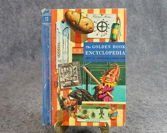 The Golden Book Encyclopedia C. 1960