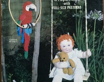Quickly Knitted Clothes for Dolls  Vintage Knitting Pattern  Original booklet Penelope No 33 6 outfits