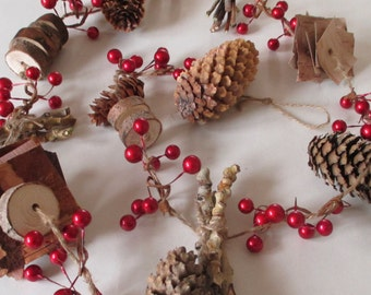 Nature Garland, Christmas Garland