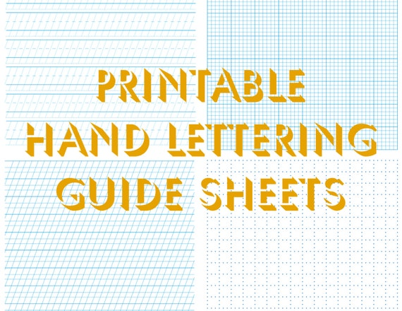 Architectural Lettering Practice Sheets hand lettering ...