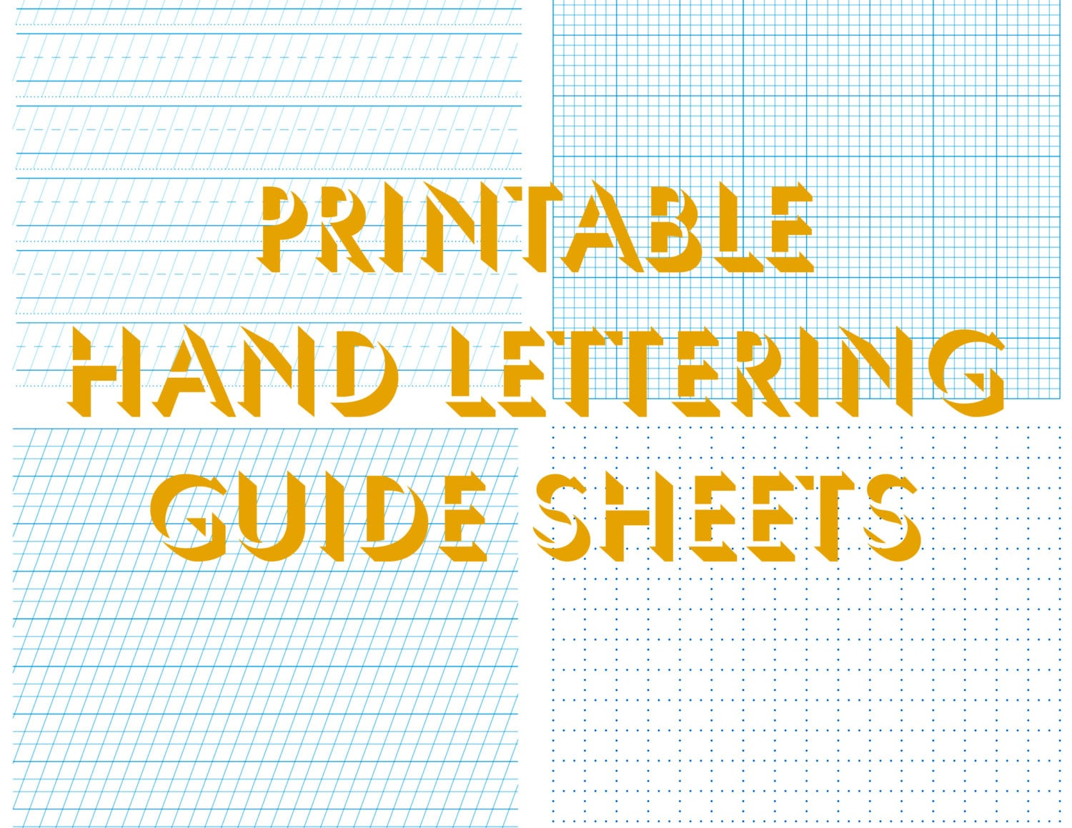 Free downloadable calligraphy practice sheets