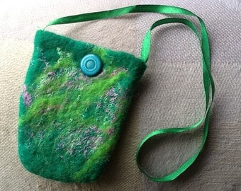 Felted purse/pouch