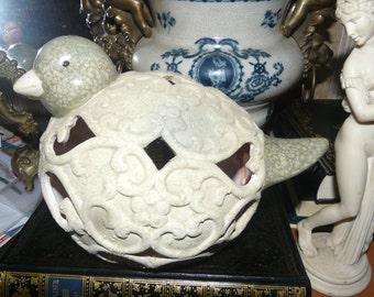 vintage, ceramic bird