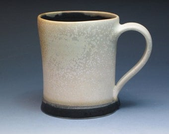 Silvie Granatelli Poreclain Mug, Hand Thrown Studio Pottery,