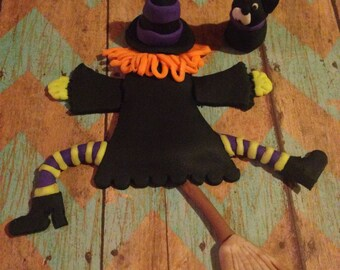 Halloween Cake Topper (Witch)
