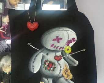 VOODOO DOLL Tote Canvas Bag