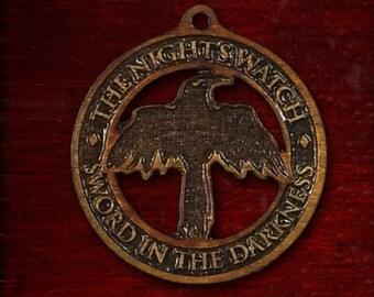 Medallion of the night Guard (night's watch)
