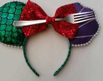 Little Mermaid, Ariel, Inspired Mickey Ears