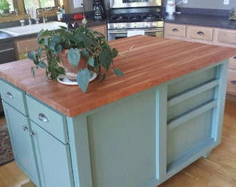 Kitchen Island 36 X 48 kitchen island | etsy