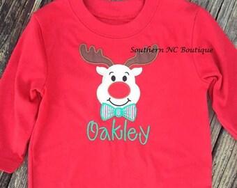 Applique Reindeer Shirt!