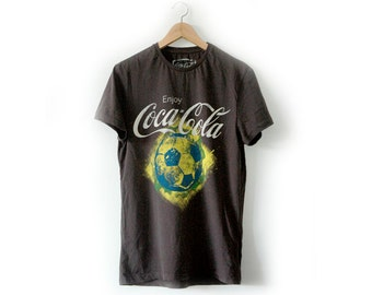 Cocoa Cola football tee