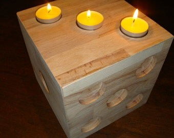 """light cube"" candle holders"