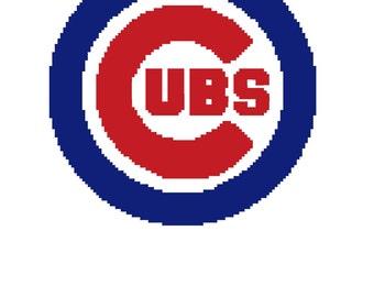 Chicago Cubs Digital Crochet Pattern